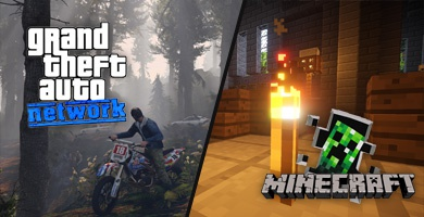 Minecraft i GTA: Network dołączają do oferty - Hosting gier LiveServer.pl